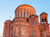 Classical Armenian cathedral — Stock Photo