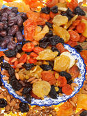 Sweet dried fruits — Stock Photo