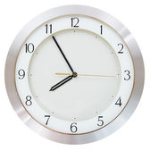 Five minutes to eight o clock — Stock Photo