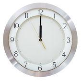 Without five seconds twelve o clock — Stock Photo
