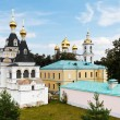 Churches of Dmitrov Kremlin, Russia — Stock Photo