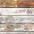 Stock Photo: Old shabby wooden planking