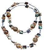 Handmade women necklace — Stock Photo