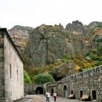 Medieval geghard monastery in Armenia — Stock Photo