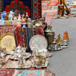 Stock Photo: Street flemarket in Yerevan
