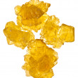 Stock Photo: Pieces of yellow crystalline sugar