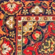Ornament of Central Asian carpet — Stock Photo