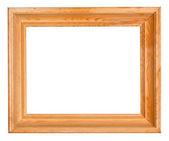 Marco de madera ancho — Foto de Stock