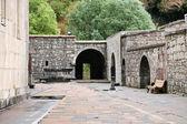 Středověký klášter geghard klášter v arménii — Stock fotografie