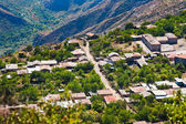 Houses of village Halidzor in Armenia — Stock Photo