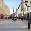 View of renovated Nikolskaya street in Moscow — Stock Photo