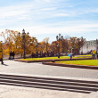 View of Manege Square in Moscow in autumn — Stock Photo