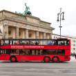 Sightseeing Tour bus in Berlin — Stock Photo