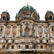 View of Berliner dom from Spree river — Stock Photo
