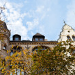 Facade of urban villa of 19th century in Berlin — Stock Photo