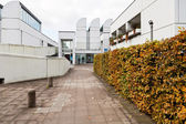 Front view of Bauhaus Archive building in Berlin — Stock Photo