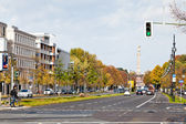Klingelhoferstrasse and Victory Column, Berlin — Stock Photo