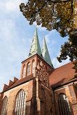 Medieval Saint Nicholas Church in Berlin — Stockfoto