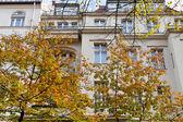 Facade of urban mansion of 19th century in Berlin — Photo
