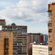 Stock Photo: Modern residential storey buildings in city