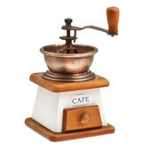 Vintage coffee mill — Stock Photo