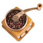 Vintage coffee mill — Stock Photo