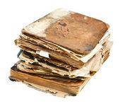 Pilha de livros antigos — Foto Stock