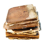 Stack of manuscripts — Stock Photo