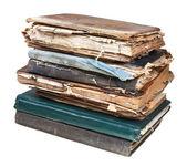 Stack of old used books — Zdjęcie stockowe