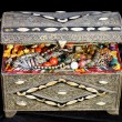 Stock Photo: Ancient arabic treasure chest