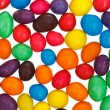 Stock Photo: Multi-colored chocolate candy dragees