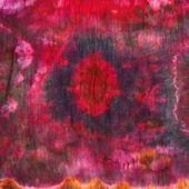 Abstract pattern on handmade silk batik — Stock fotografie