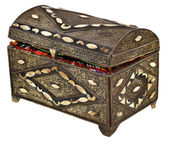 Ancient treasure chest — Stock Photo