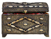 Ancient treasure chest — Stock Photo