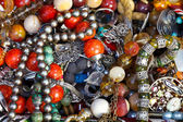 Background from antique jewelry — Foto de Stock