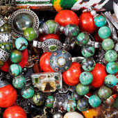 Background from antique jewelry — Stock Photo