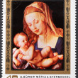 Virgin and child with a pear by Durer — Stock Photo #39467851