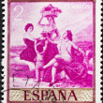 ������, ������: Goya painting