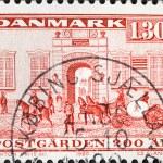 Postoffice Kobmagergade, Denmark — Stock Photo #39468629
