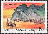 View of Ha Long bay, Vietnam — Stock Photo