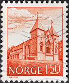 Cathedral in Stavanger, Norway — Stock Photo