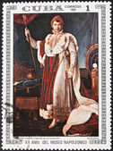 Napoleon in coronation dress by Francois Gerard — Stock Photo