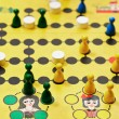 Stock Photo: Malefiz - family board game close up