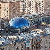 Центральная контрольная точка в районе Сокол, Москва — Стоковое фото