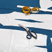 Tailor tools and master forms of clothes — Stockfoto