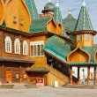 Stock Photo: Porch Great Wooden Palace in Kolomenskoe, Moscow