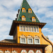 Stock Photo: Tower of Great Wooden Palace in Kolomenskoe Moscow