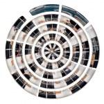 Decks of big cruise liner — Stock Photo #42445243