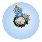 St. Michael Golden-Domed Monastery, Kiev — Stock Photo