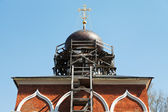Dome of Peter and Paul Church in Mozhaysk Kremlin — Photo